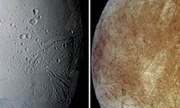 NASA: Doi dintre sateliţii planetelor Saturn şi Jupiter ar putea să întreţină forme de viaţă extraterestră