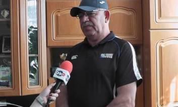 Echipa de rugby condusă de Neculai Tarcan pregătită pentru Campionatul European