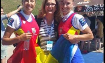 VIDEO  - România este campionă europeană la canotaj, prin Mădălina Bereș și Mihaela Petrila