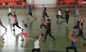 Fitness si zumba, zeci de participanti