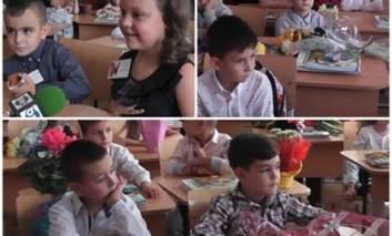 Primii paşi în şcoală, la clasa pregătitoare