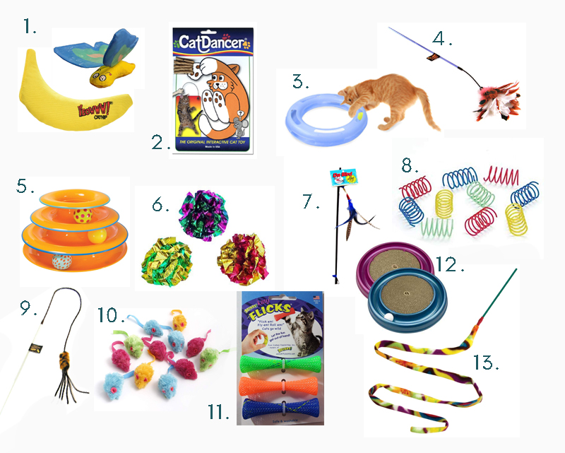 Our favorite cat toys