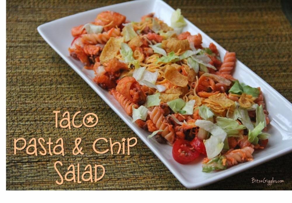 Taco Pasta Chip Salad