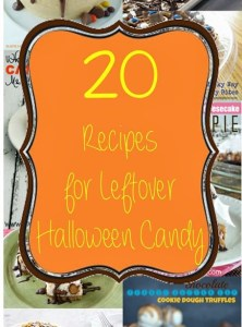20 Recipes for Leftover Halloween Candy