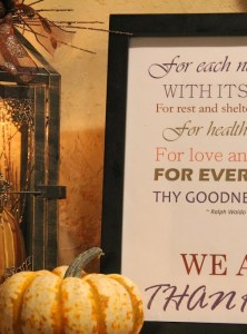 We Are Thankful Subway Art Printable