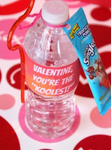 Kool-Aid Valentine with Free Printable Label