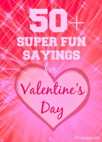 valentine sayings for kids