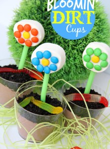 Bloomin' Dirt Cups