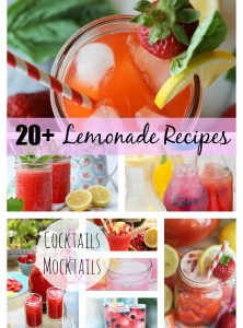 20+ Lemonade Recipes