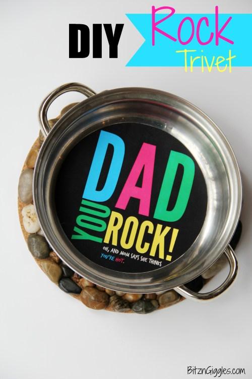 Rock Trivet - Bitz & Giggles