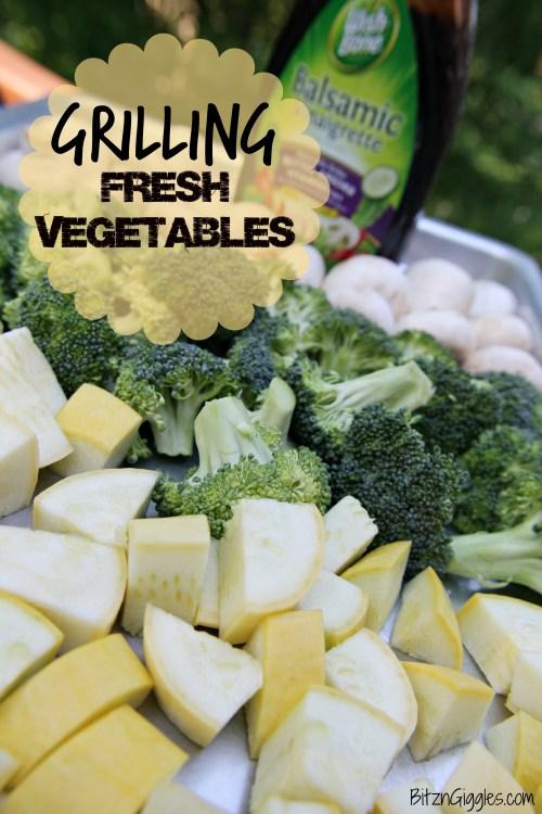 Grilling Fresh Vegetables
