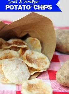 Salt & Vinegar Potato Chips