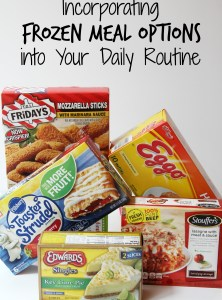 Incorporating Frozen Meal Options into Your Daily Routine