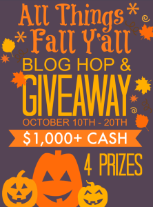 All Things Fall Y'all Blog Hop & Giveaway!