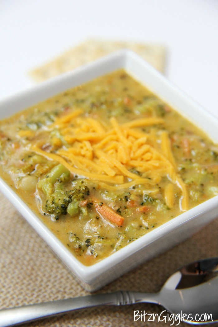 Cheesy Potato Broccoli Soup