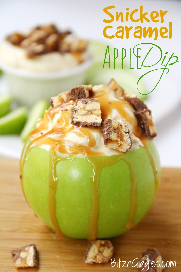Snicker Caramel Apple Dip
