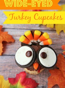 Wide-Eyed Turkey Cupcakes
