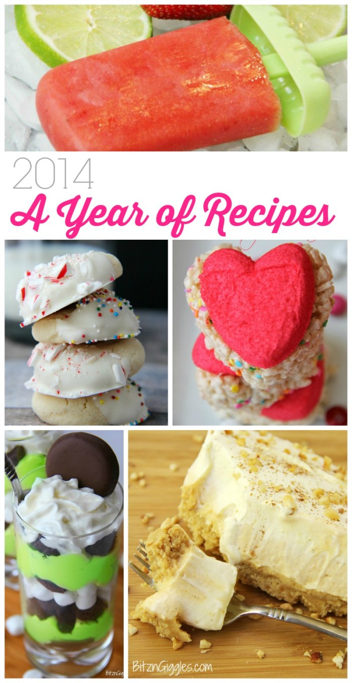 2014 - A Year of Recipes from Bitz & Giggles