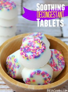 Soothing Decongestant Tablets