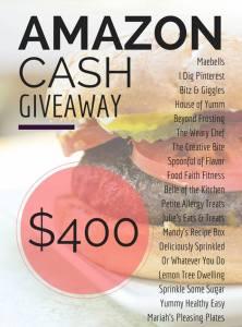 $400 Amazon Cash Giveaway