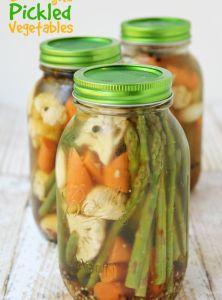 Overnight Pickled Vegetables