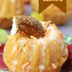 Mini Pumpkin Cakes - Pumpkin cakes made from a mini bundt pan - a special treat for Halloween and Thanksgiving!