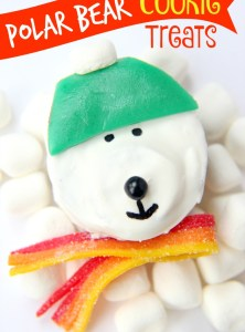 Polar Bear Cookie Treats