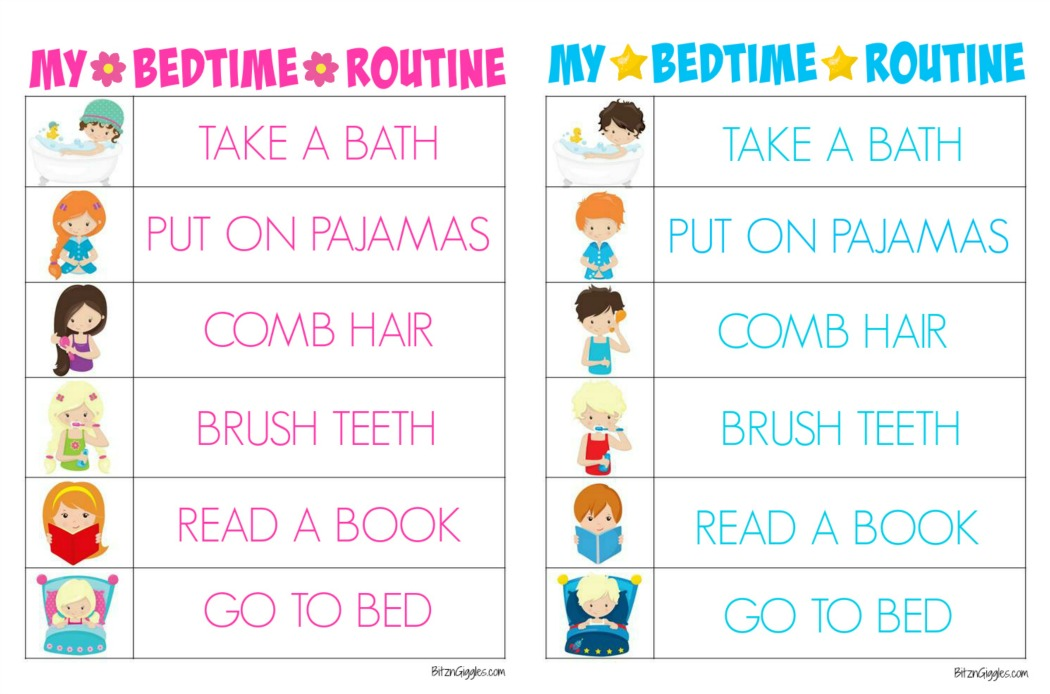 This is an image of Transformative Printable Morning Routine Chart
