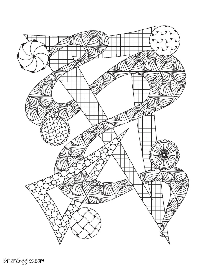 Printable Adult Coloring Pages - Bitz & Giggles | free fun coloring pages for adults