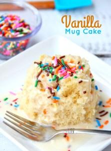 Easy Vanilla Mug Cake