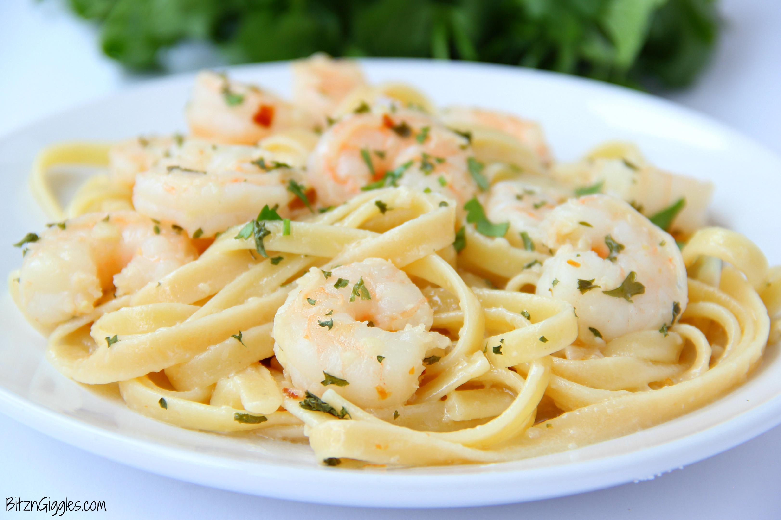 recipe: lemon pepper shrimp fettuccine [7]