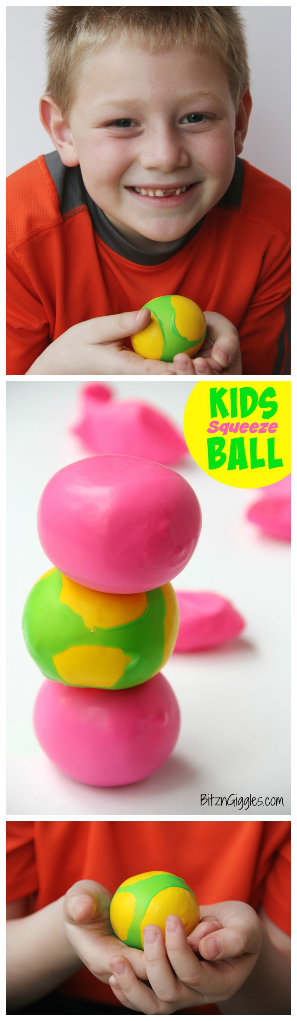 how to make stress ball for kids