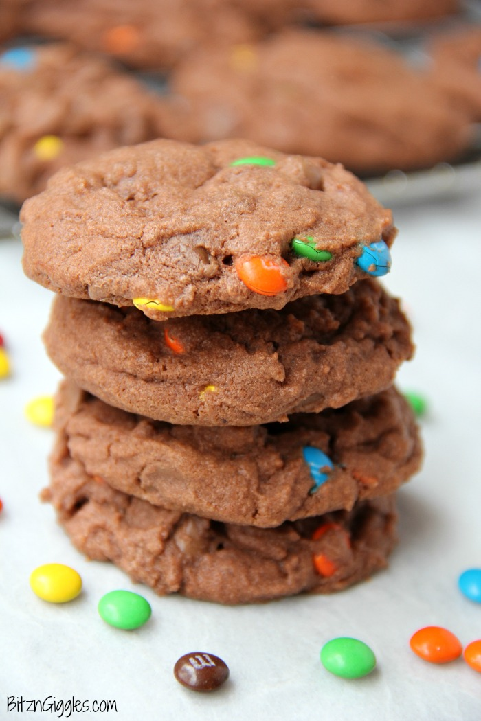 """hile pudding cookies tend to have a little bit different """"look"""" than normal cookies (in my opinion), their soft and chewy texture are what win me over each and every time."""