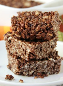 Crispy Fudge Bars