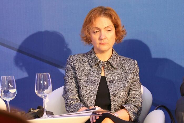 """Софи Хадживелчева """"разписа"""" държавната помощ за банката на КОЙ. Снимка ClubZ"""