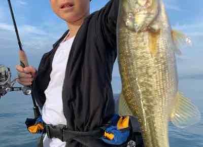 9月12日琵琶湖ガイドはお子様プランでデッカイの掛けたけど・・・