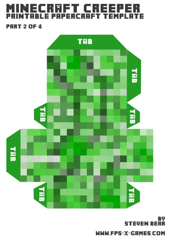 minecraft printable images # 30