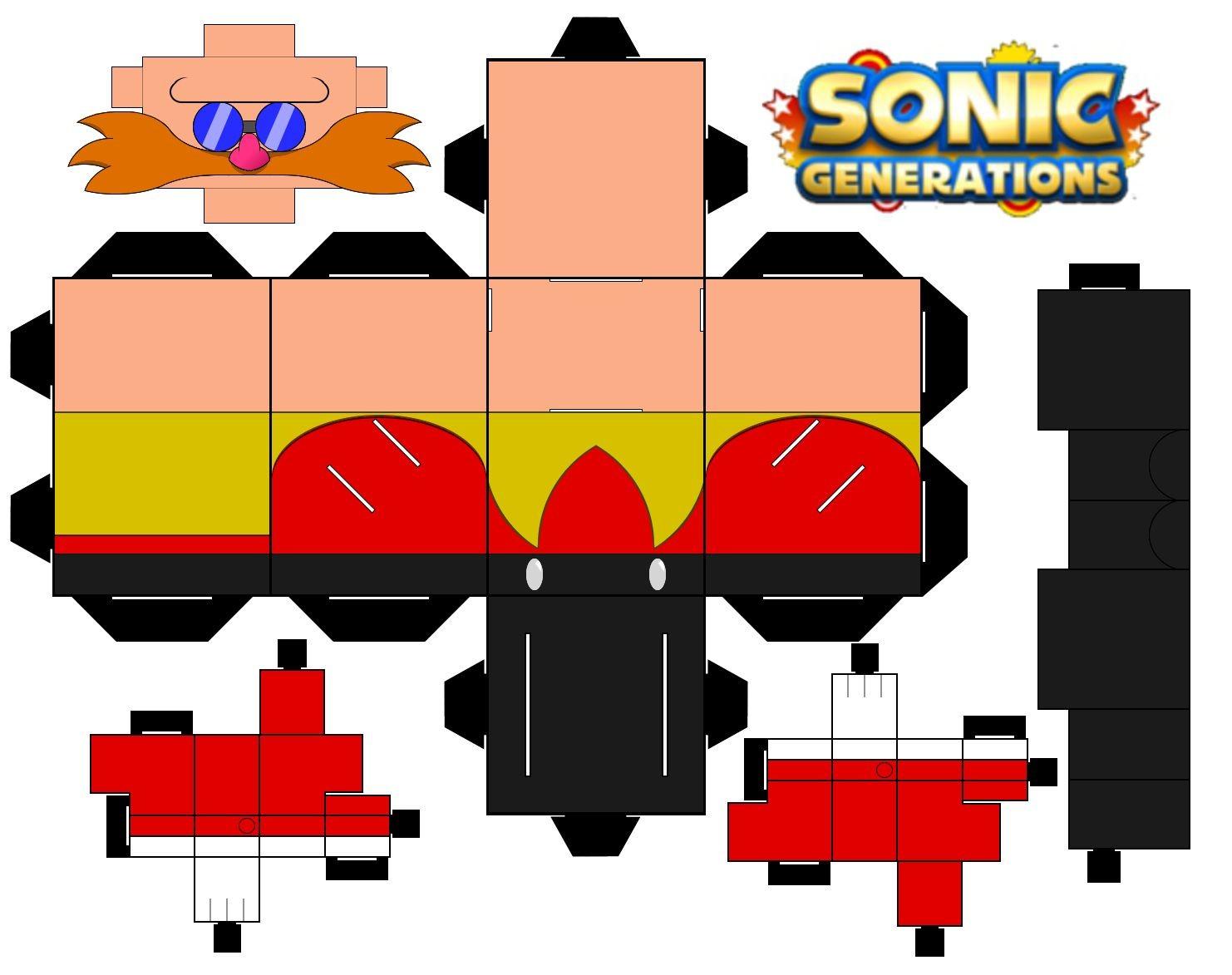 Melhores Colecoes Sonic Para Imprimir