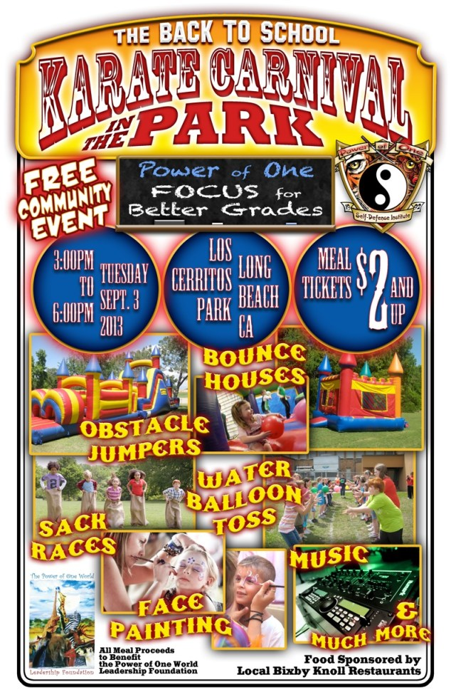 KARATE KARNIVAL IN THE PARK POSTER (1)