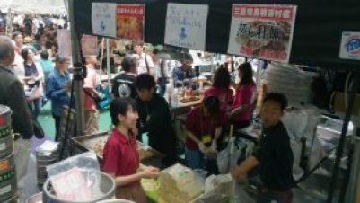 松阪牛ホルモンと、三重の蒸し牡蠣!美味しいよ~(笑)