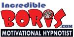Hypnotist The Incredible BORIS Logo