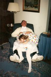 When Poppy took a nap, Hannah took a nap!