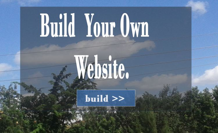 How to uild your Own  Website