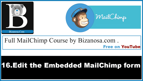 Edit CSS for mailchimp form- embedded mailchimp form