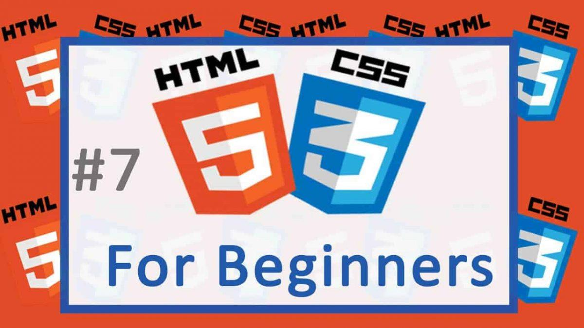 HTML CSS TUtorial for all