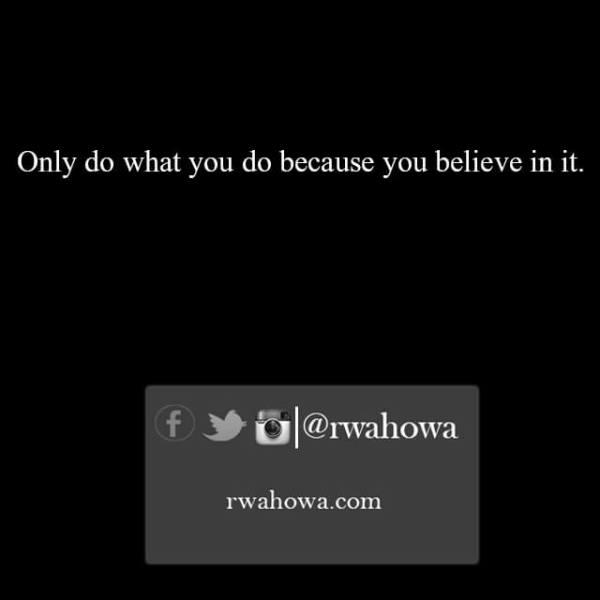 Ricky Wahowa quotes