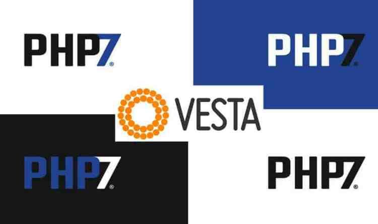 Vesta CP Update php to 7.2