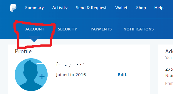 close a paypal account