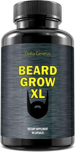 Beard Grow XL | Facial Hair Supplement Review - By Bizarbin.com