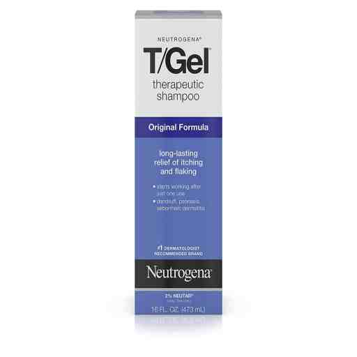Best Dandruff Shampoos for Men - Neutrogena T/GEL Shampoo and Anti-Dandruff Treatment: Best for Dandruff due to Poor Hygiene
